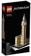 New Lego 21013 Architecture Skyline Collection Big Ben Clock Tower