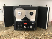 Rca Victor Reel To Reel - Portable With Speakers