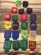 21 Phish Beer Cousy , Fishman , Trey , Page,mike, Rare . Sold Out. Coozy Pin