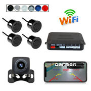 Wireless Wifi Car Rear View Camera Radar Hd Night Vision For Iphone Android Ios