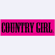 Country Girlandreg Logo Sticker/decal Truck Or Car Bumper Stickers Graphic Decals