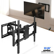 32-85 Large Tv Wall Mount Bracket Full Motion Swith Swivel Extension Dual Arms