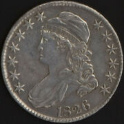 1826 Capped Bust Half Dollar Xf Detail Toned Us Mint 50 Cent Silver Coin Scarce