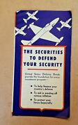 Us Treasury Dept's Bond-a-month Plan Pamphlet By U.s. Government Printing 1951