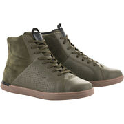 Alpinestars Jam Air Motorcycle Riding Shoes Military Green 12