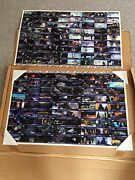 Star Wars 1995 Topps Widevision Trading Cards Uncut Esb And Rotj 4 Sheets Qvc Rare