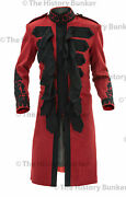 1915 British Army Officer Undress Frock Coat Red - Made To Your Measurements