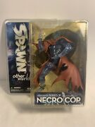 Mcfarlane Toys Spawn Other Worlds Series 31 Necro Cop Clear Blue Variant Figure