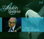 Andres Segoviarare3 Cd Set Masters Of The Classical Guitarnew Sealed