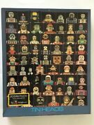 Tin Heads Space Toy Academy Class Of 62 Robot Puzzle 1000+ Pieces Rare
