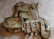 Pre-msa Paraclete Rmv 720 Coyote Brown Plate Carrier Releasable With Pouches