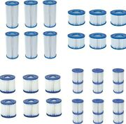 🔵🌊6 Pack Bestway Swimming Pool Filter Pump Replacement Cartridge Many Types