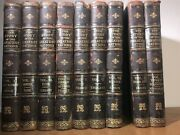 Massive Leather Set History Of The Greatest Nations Old Library 1903 Damaged