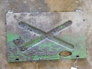 John Deere 4230 Tractor Lower Dash Console Access Panel Tag 162