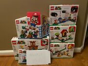 Super Hard To Find - Lego Super Mario Huge Lot / New, In Hand, Fast Ship