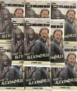 2018 Topps Walking Dead Road To Alexandria Pack Daryl/negan/blue/bandw/red/hot