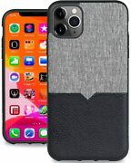 Evutec Iphone 11 Pro 5.8 Inch Northill Leather Heavy Duty Case With Afix Mount