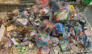 Vintage Mcdonaldand039s Happy Meal Toys And Burger King Toys Mixed Lot Of 200 Sealed