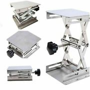 Stainless Steel Router Lift Table Lifting Stand Woodworking Engraving Benches