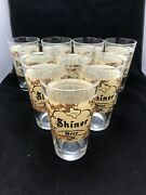 Lot Of 10 Texas Shiner Pint Beer Glass Breweriana Army Toast Our Troops