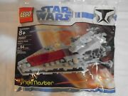 Lego 20007 Star Wars Republic Attack Cruiser Polybag New Misb Sealed Retired