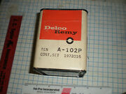 Delco Remy Ignition Contact Point Set A102p Mopar Prods 1951 To 1971  A2