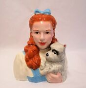 Wizard Of Oz Dorothy And Toto Cookie Jar From Star Jars Limited Edition 605/1939