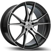 20 Forzza Ultra Alloy Wheels 5x112 Gm Machined Fits Vw Golf   Scirocco   Passat