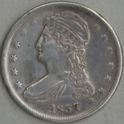 1837 Capped Bust Half Dollar Xf Detail Cleaned Us Mint 50 Cent Silver Coin Rare