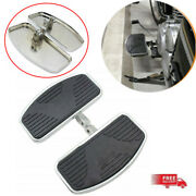 One Pair Left+right Floorboards Foot Boards Pedal Universal For Motorcycle Relax