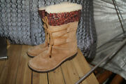 Ugg Boots Size 7 Uggs 7 Leather Uggs 7 Lace Up Uggs Rubber Soled Uggs 7 Uggs 7
