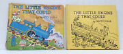 Vintage The Little Engine That Could By Watty Piper 1961 Hb With Dj