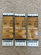 3 2018 Notre Dame Football Vs Florida State Football Fulls Tickets