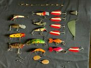 Vintage Metal Umco Fishing Tackle Box With Rods, Lures, And Fly Tying Materials