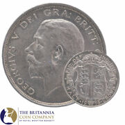 1911 To 1919 King George V Sterling Silver Half Crown - Choose Your Year