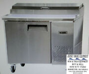Bison Refrigeration Bpt-44 Refrigerated Counter, Pizza Prep Table