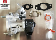 New Oem Toyota 2010-2012 Prius And 2012 Prius V Egr Valve Kit With Gaskets