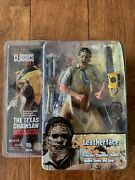 Neca Cult Classics Series 5 Leatherface Texas Chainsaw Vhtf Mint Action Figure