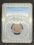 1888 Indian Head Cent Penny Pcgs Pf 63 Bn / Pr 63 Bn Proof Certified