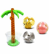 Mozlly Mozlly Value Pack - Cota Global Inflatable Giant Palm Tree Drink Cooler A