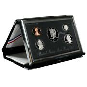 1998-s Silver Premier Gem Proof Set W/ Box And Case And Coa