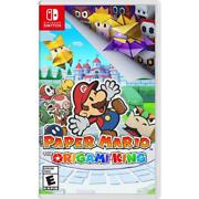 Paper Mario The Origami King - Nintendo Switch 2020