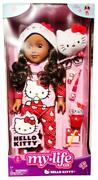 """My Life As Hello Kitty African American Posable 18"""" Doll With 9 Piece Accessory"""