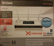 D-link Dir-855 Xtreme N Duo Media Router - 300mbps, 802.11n Dual Band 4-port Gig
