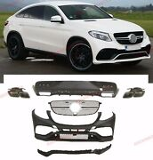 Body Kit For Mercedes Benz Gle Coupe 63 Amg C292