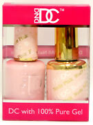 Dnd Dc Duo Gel Color Matching Polish 18ml-0.6fl.oz Color Dc151- Nude Pink