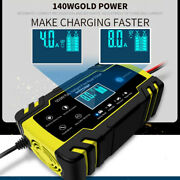 12v/8a 24v/4a Smart Maintainer/pulse Repair Charger Enhanced Car Battery Charger
