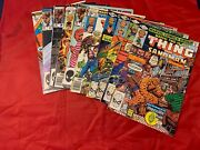 Lot Of 10 Marvel Comics The Thing - Issues 22 28 31 35 Two-in One 5 Various Issu