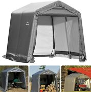 🎪all Season Waterproof Outdoor Shelter Rollup Storage Shed Portable Garage Tent