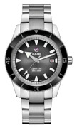 New Rado Captain Cook Automatic Stainless Steel Black Dial Men's Watch R32105158